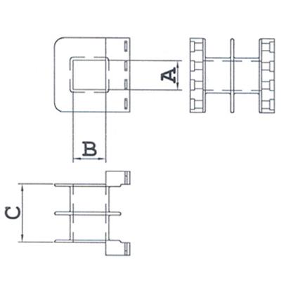 PTCD (Para Terminal Com Divisória) - Modelo 3