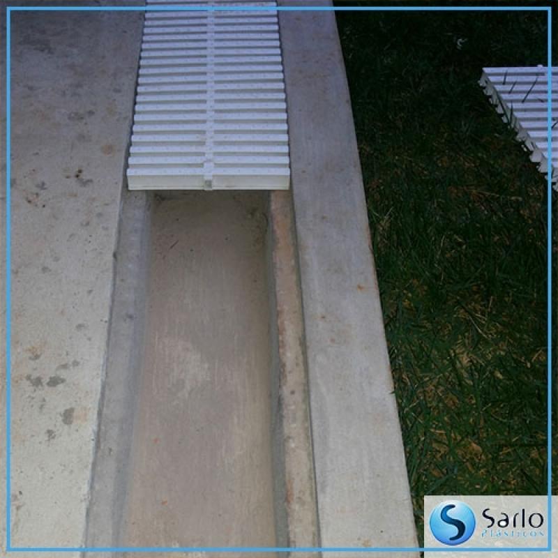 Fabricante de Grelha Plástica Linear Pedreira - Fabricante de Grelha Plástica com Terminal