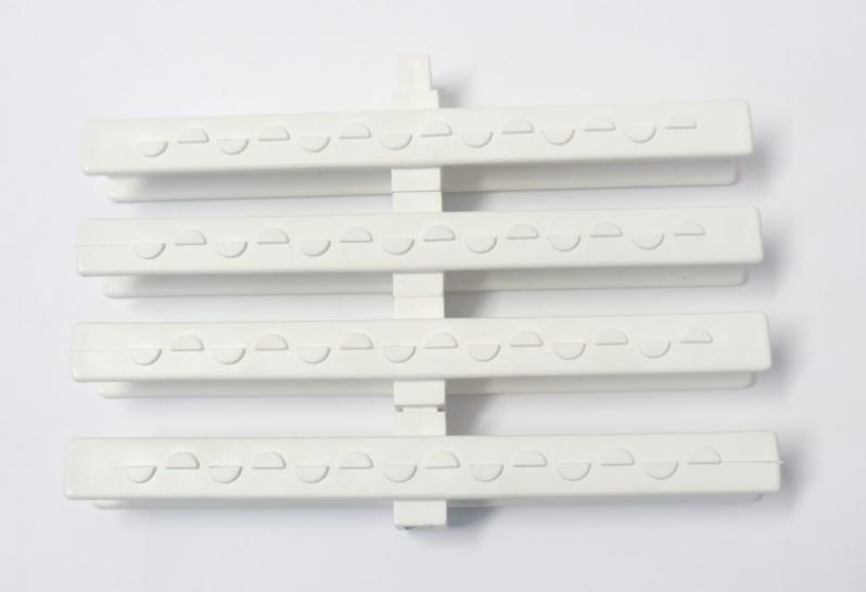 Grelha Flexível para Piso de Cozinha Bom Retiro - Grelha Flexível Branca para Piso
