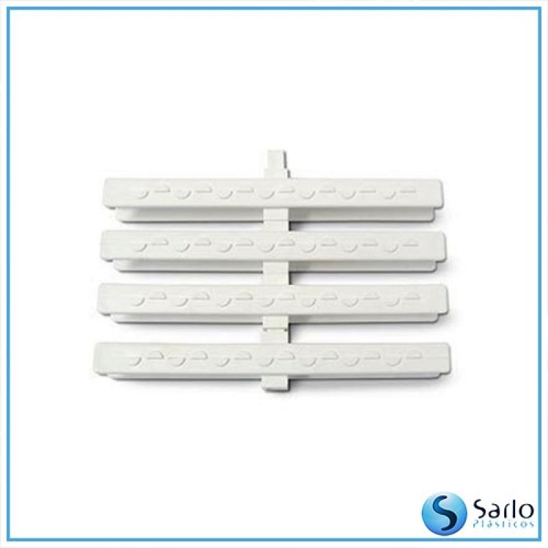 Ralo Linear com Grelha Nordeste - Ralo Linear Branco