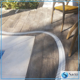 grelha flexível para área de piscina Porto Seguro