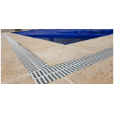 grelha para borda de piscina orçamento Novo Gama