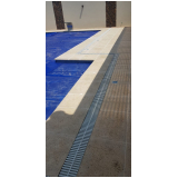 grelha flexível para piscina