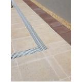 grelhas flexíveis branca para piso Nova Piraju
