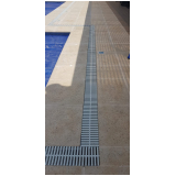 grelhas para borda de piscina Ponte Rasa
