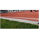 loja de grelha flexível branca para piso Pompéia