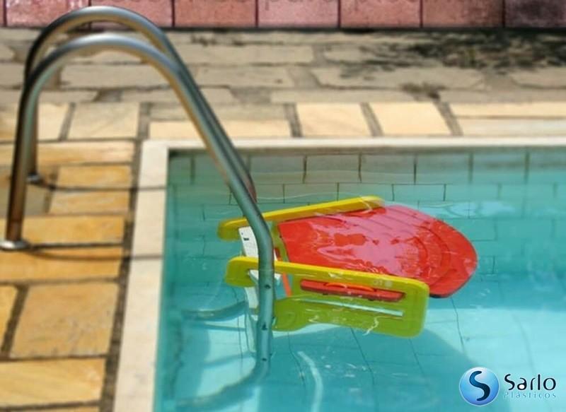Plataforma para piscina save dog