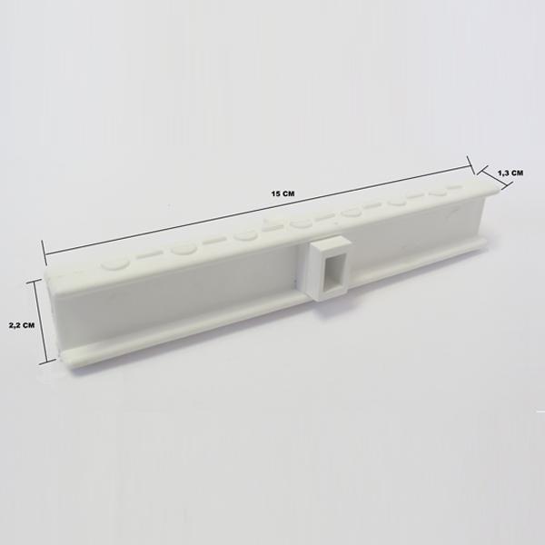 Grelha Branca 15 Centímetros (metro linear)