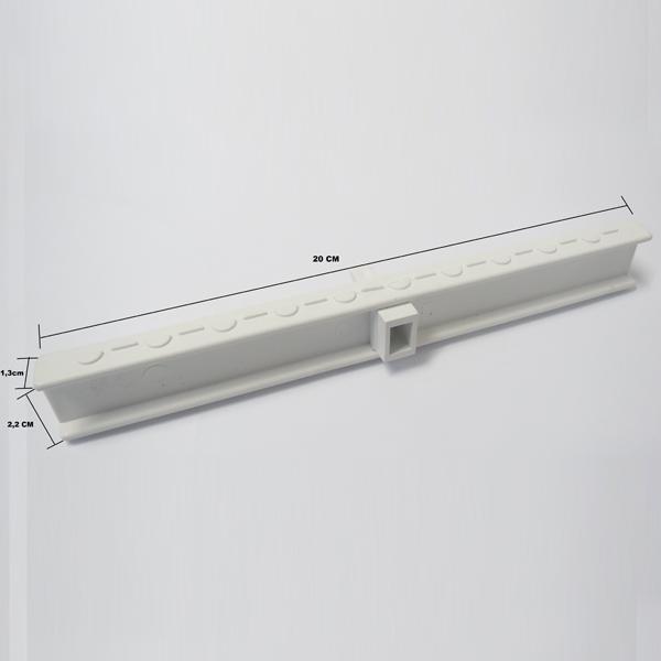 Grelha Branca 20 Centímetros (metro linear)