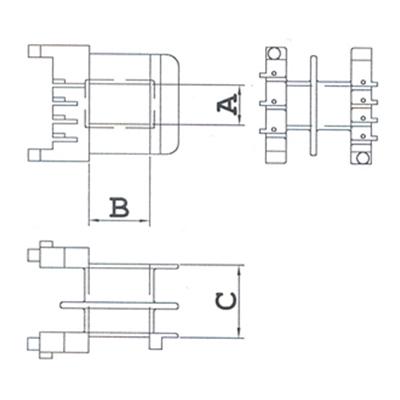 PTCD (Para Terminal Com Divisória) - Modelo 2