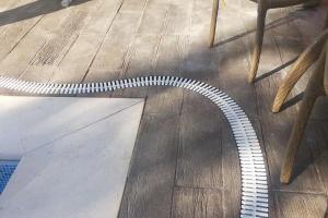 Grelha Branca 10 Centímetros - metro linear